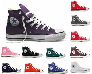 Girls-Boys-Converse-Ct-All-Star-Hi-Canvas-Trainers-Twelve-12-Colours-Youths-11-2