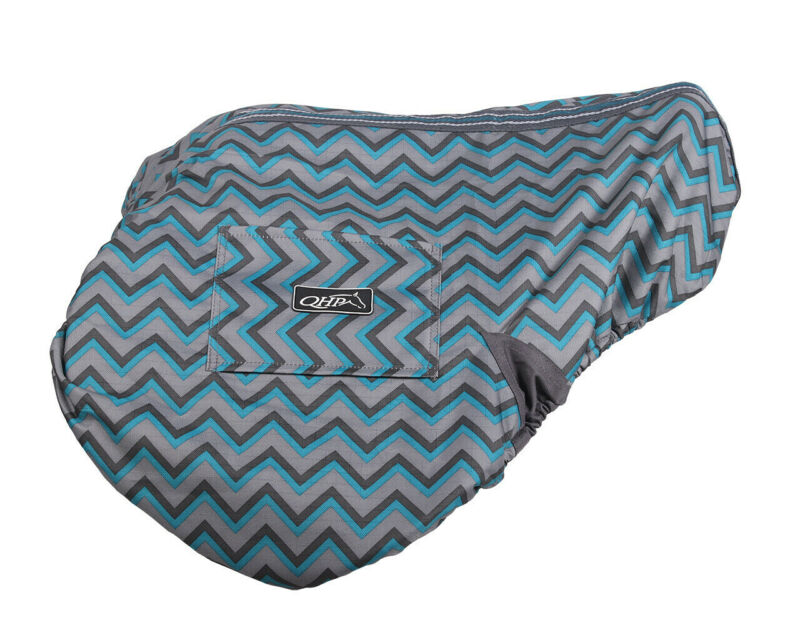 QHP Waterproof Saddle Cover - ZigZag QHP