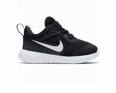Nike Revolution 5 TDV BQ5673 003 Baby's Trainers Black Boys Shoes