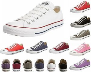 MENS-WOMENS-CONVERSE-CT-All-STAR-OX-CANVAS-TRAINERS-TEN-10-COLOURS-UK-3-12