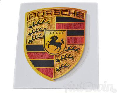 Brand New Porsche Sticker Crest Logo Genuine OEM WAP013002