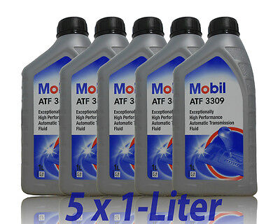 Mobil ATF 3309 Automatik Getriebeöl  5 x 1 Liter Mobil 1 Getriebeöl