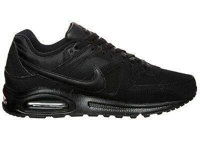 wholesale dealer 5bdd0 24551 ... Nike AIR MAX COMMAND LEATHER 749760 003 Black Trainers ...