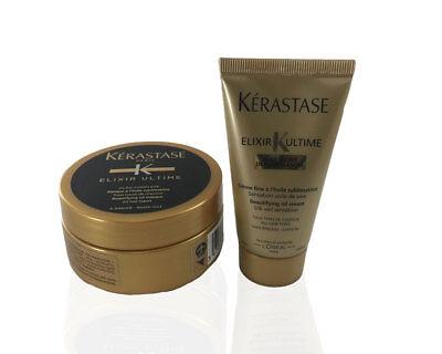 Kerastase Elixir ultime Hair Mask 75ml & Metamorph'oil Prepa