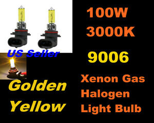 Golden-Yellow-Xenon-100w-Toyota-01-03-Prius-Fog-Light-9006-HB4