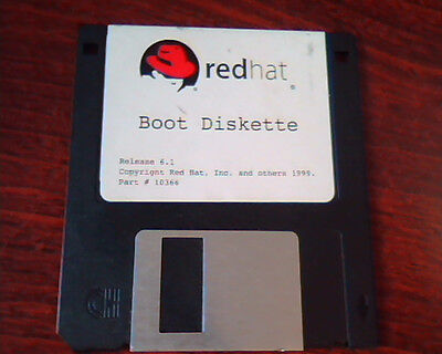 Floppy Disk RedHat Boot Diskette release 6.1 10366 Red Hat (Boot-diskette)