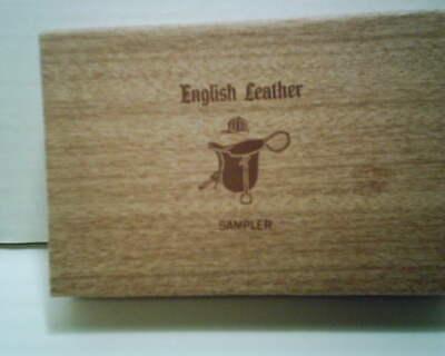 VINTAGE ENGLISH LEATHER SAMPLER -