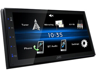 JVC 2-DIN USB/Bluetooth Autoradio/Radio-Set für MERCEDES Sprinter/Viano/Vito