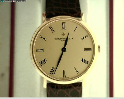 VACHERON CONSTANTIN 31039/1 PATRIMONY 18K YELLOW GOLD