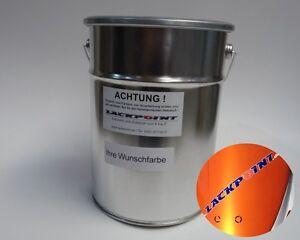 1 Liter Basislack Spritzfertig New Goldorange 2 Metallic Autolack Tuning Trend