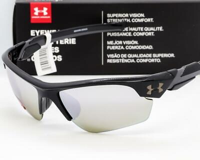 UNDER ARMOUR WINDUP SUNGLASSES UA Youth Kids Fit - Black / Gameday Mirror (Under Armour Sunglasses For Kids)