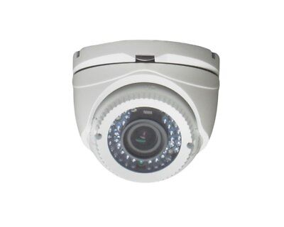 1080p Full Hd-tvi 60ft Ir Turret Dome Cctv Camera 2.8 Wide Angle Lens Daynight