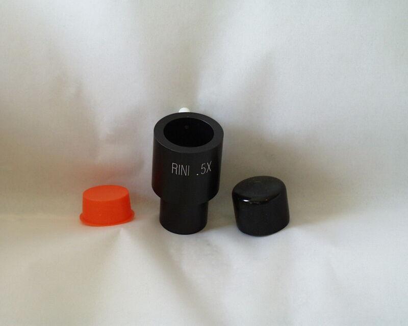 "Rini 1.25"" 0.5X telescope reducer eyepiece adapter"