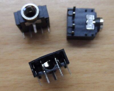 40x 3.5mm Stereo Jack  Socket  Audio Headset Headphone  Mic Phono PCB Mount 20pc