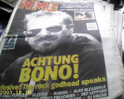 """NME: """"Oct. 21/95"""" U2 int./SMASHING PUMPKINS/BOSS HOG/ERASURE/SLEEPER comprar usado  Enviando para Brazil"""