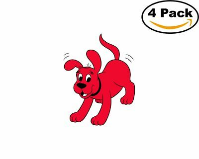 - Clifford the Big Red Dog 4 Stickers 4X4 Inches Sticker 10