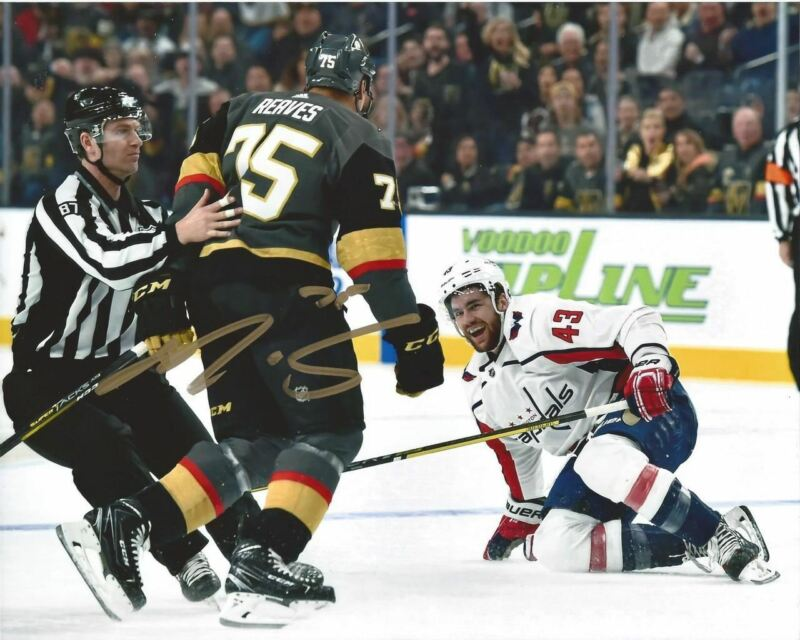Ryan Reaves Autographed 8x10 - Wilson Gold