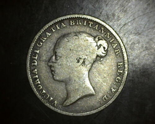 1953 Great Britain Six Pence F