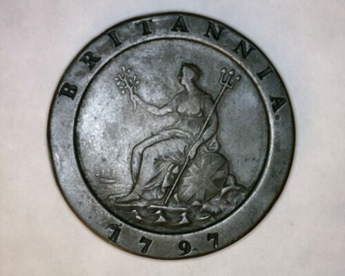 1797 Great Britain 2 Penny George III