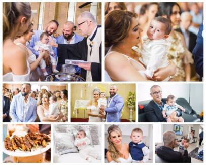 Cheap & Affordable Christening Baptism & Wedding Photography