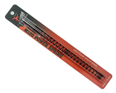 Action Army A06-003 AEG Upgrade Airsoft Spring M120 for KWA G&G ICS JG ECHO1 ()