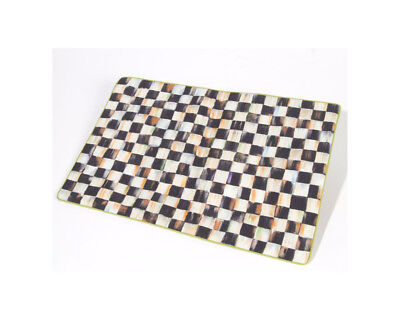 Mackenzie Childs COURTLY CHECK/STRIPE Reversible (Qty 1) PLACEMAT NEW $58 m18-3