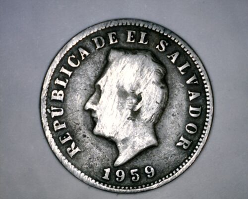 1959 5 Centavos El Salvador