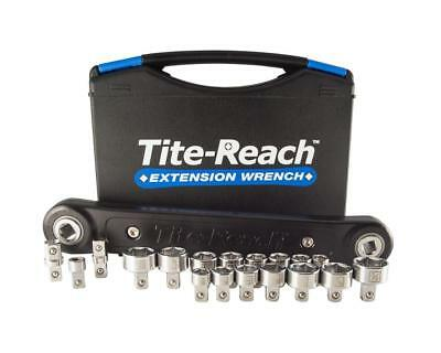 """Tite-Reach TR38V1 3/8"""" Professional Extension Wrench & Low Profile Socket Kit"""