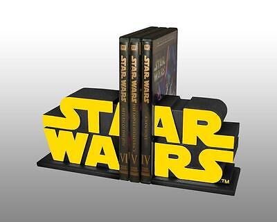 STAR WARS LOGO BOOKENDS GENTLE GIANT Official Statue SET Limited Rare Edition