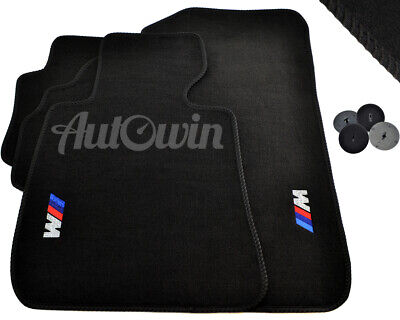 Floor Mats For BMW With  M Emblem USA Vehicle TAILORED 1990 2018 All Models