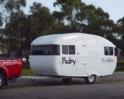 VIntage Retro Kennedy Caravan in fiberglass Point Lonsdale Outer Geelong Preview