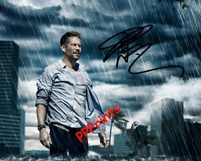 L374 Signed Paul Walker t shirt tee t-shirt autograph signature Fast and Furious