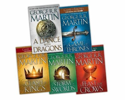 Games of thrones collection set 5 book with 1 purchase