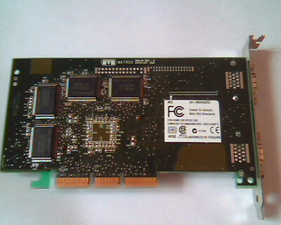 Identify these two Matrox PCI video cards please