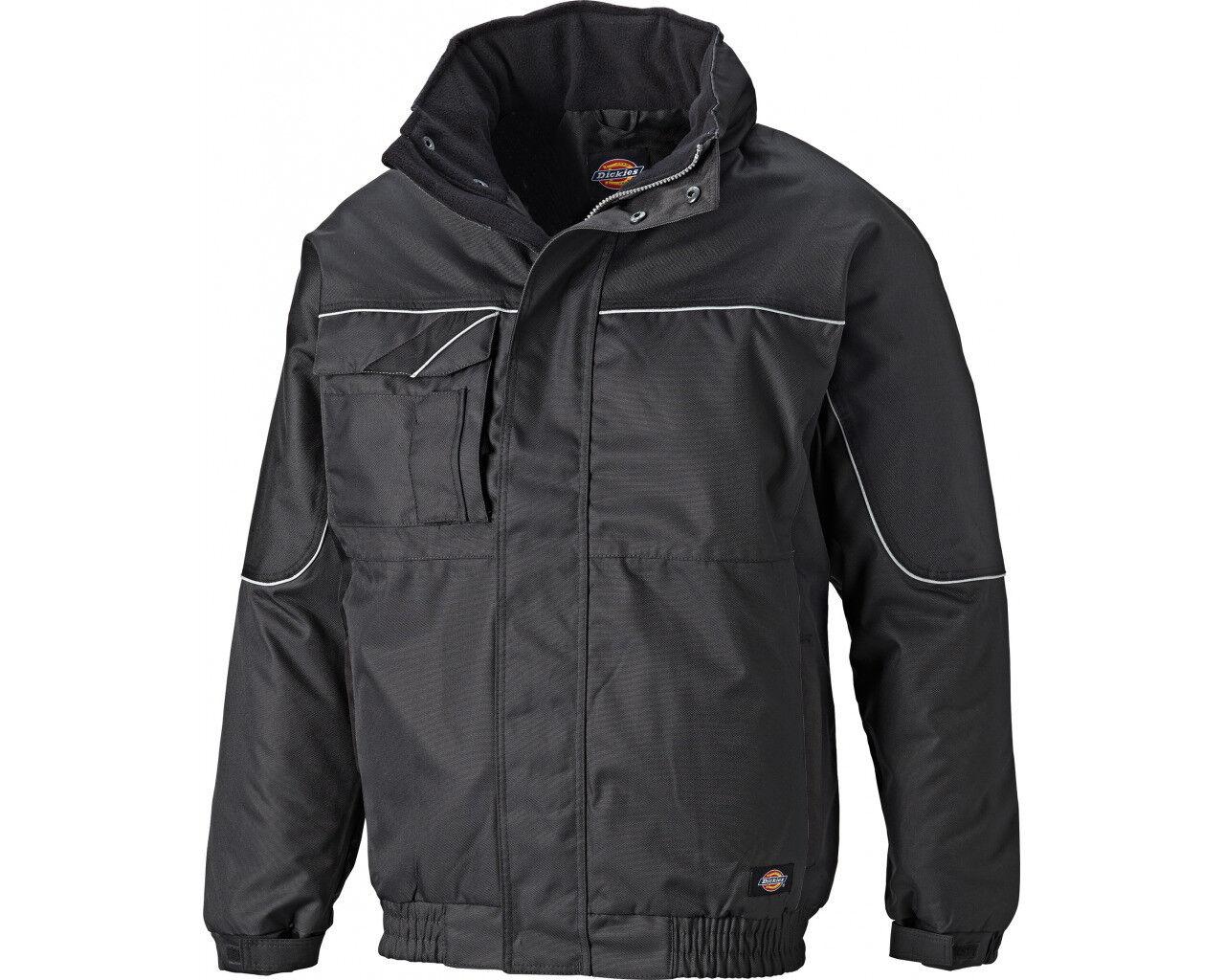 55760f45 Dickies Industry 300 Waterproof Winter Work Jacket (IN30060) Black - S to  4XL