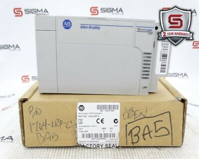 Allen-bradley 1764-lrp Micrologix 1500 Processor Ser. C Fw 12 380ma 5vdc