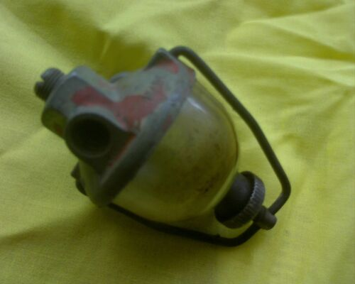 Vintage Tillotson water trap sediment bowl Fuel Filter Stationary Engine Tractor