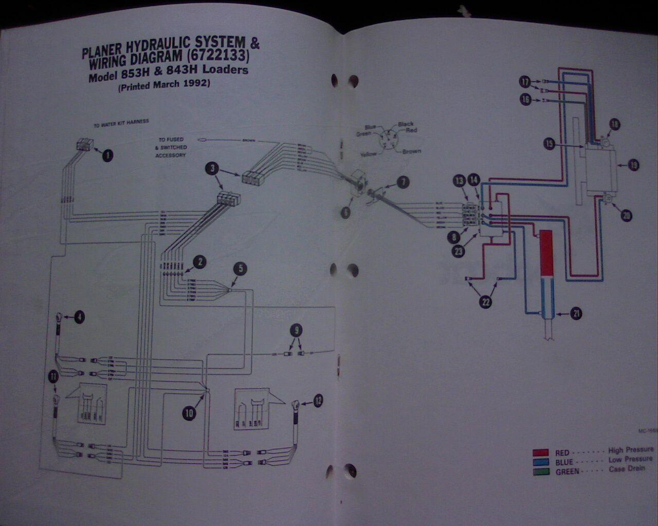 Bobcat Wire Harness Magnetek 6345 Wiring-diagram