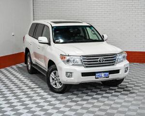 2013 Toyota Landcruiser VDJ200R MY13 VX White 6 Speed Sports Automatic Wagon