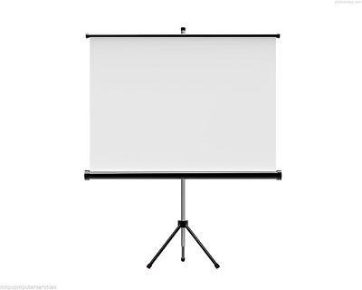 Portable Tripod Projector Screen Projection 125 X 125cm