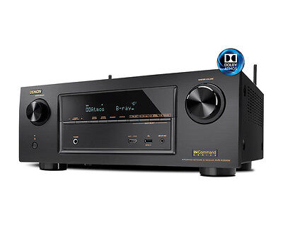 Denon AVR-X2300W 7.2 Channel FHD 4K A/V Receiver with BT and Wi-Fi - OPEN BOX
