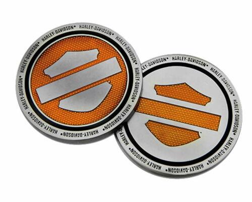 Harley- Davidson® Orange Bar & Shield Logo Challenge Coin, 1.75 inch