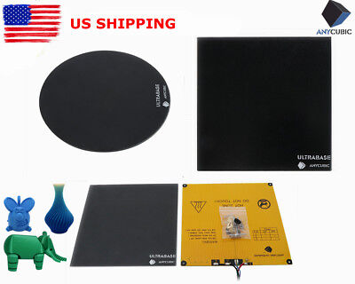 Bed Plate (*US STOCK* ANYCUBIC Multi-Size Ultrabase Glass Plate / Heated Bed for 3D)