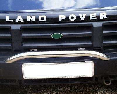 Rover disco light barebay 1 a chrome spot light bar for land rover discovery 1 2 200 300 td5 lamp bumper mozeypictures Image collections