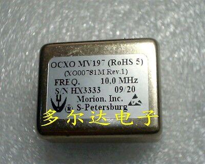 1pc Morion Mv197 10mhz 12v 3627mm Square Wave Ocxo Crystal Oscillator