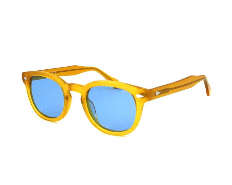 X-LAB Occhiali da sole 8004 stile moscot  27.6263 polarizzato Giallo azzurro