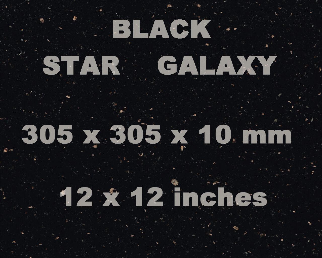 Black Star Galaxy Granite Wall Floor Tiles Goldcopper Fleck