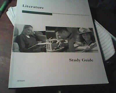 Homeschooling Penn Foster Literature Study Guide Book