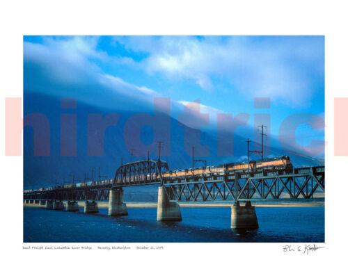 "STUNNING! Milwaukee Road Beverly Bridge color 16X20"" photo print by Kooistra"