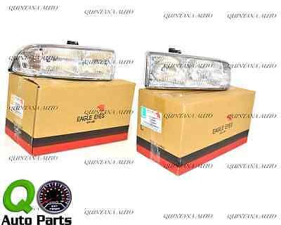 New Pair Set Headlamp Headlight Lens Assembly DOT S10 Pickup Truck Blazer Blazer Headlamp Headlight Assembly